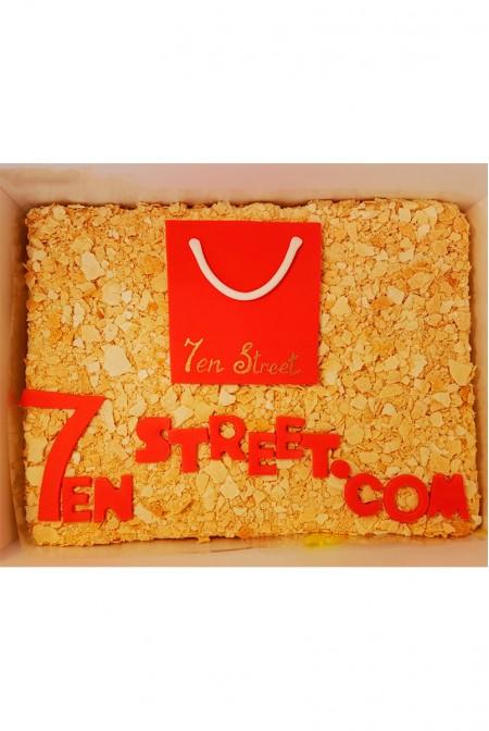 """Корпоративный Торт """"7en Street"""""""