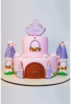 """Детский Торт """"Замок Принцессы"""""""