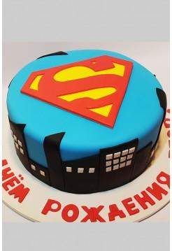 """Детский Торт """"Супермен"""""""