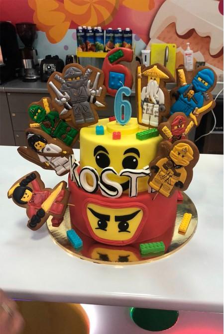 """Детский Торт """"LEGO Ninjago"""""""
