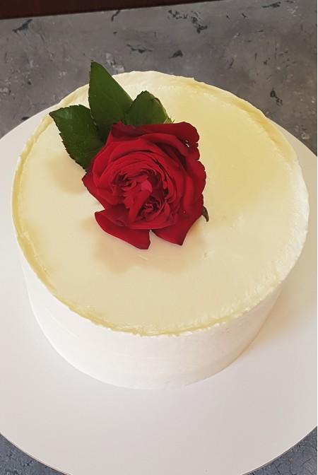 "Торт ""Алая Роза"""