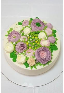 """Торт """"Весенние Цветы"""""""