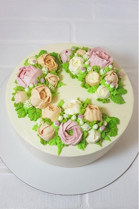 """Торт """"Цветочный Венок"""""""