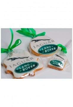Корпоративное Печенье с логотипом для автосалона