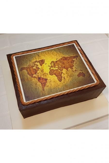 """Торт """"Карта Мира"""""""