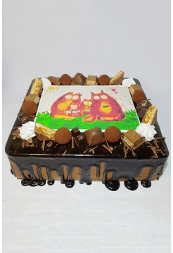"""Торт """"Моя Семья"""""""