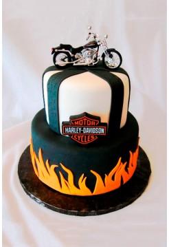 """Торт """"Harley-Davidson"""""""