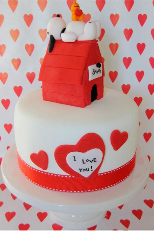 Торт на День Влюбленных на заказ