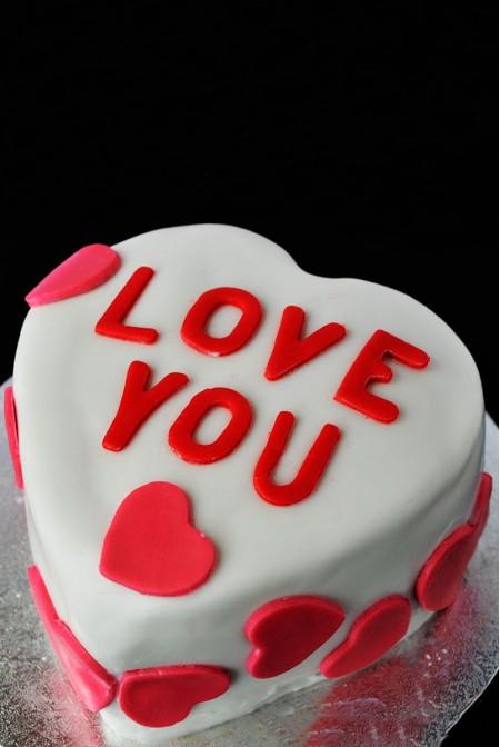 """Торт """"I LOVE YOU"""""""