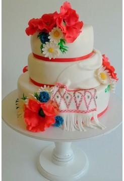 Свадебные торты №1