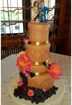 Свадебные торты №8