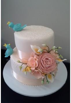 Свадебные торты №14