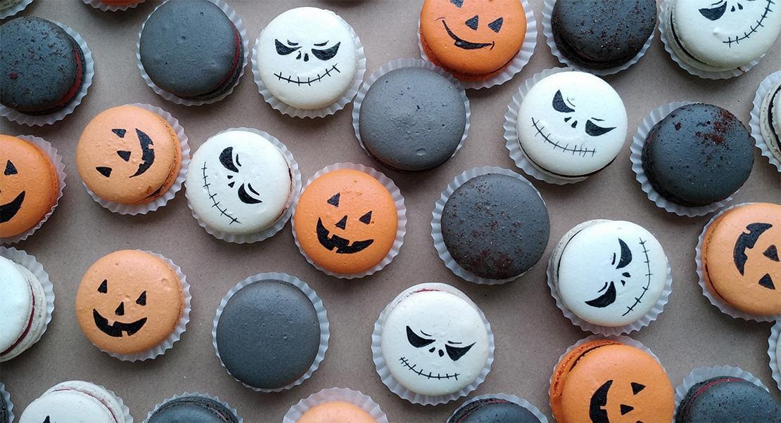 Макароны на хеллоуин заказать Киев