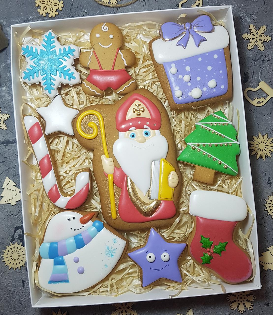 Купить Новогодние Пряники в Киеве. Доставка по Украине