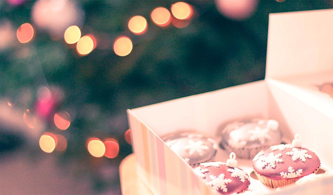 Новогодние Капкейки купить в Киеве