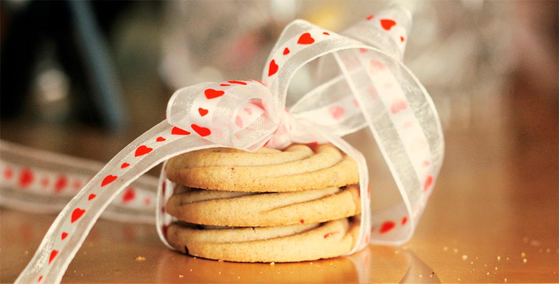 Печенье на День Святого Валентина - отличный сладкий подарок