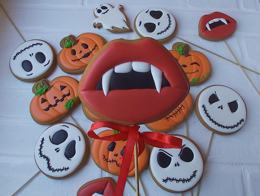 Пряники на Хэллоуин на Заказ от Royal Baking