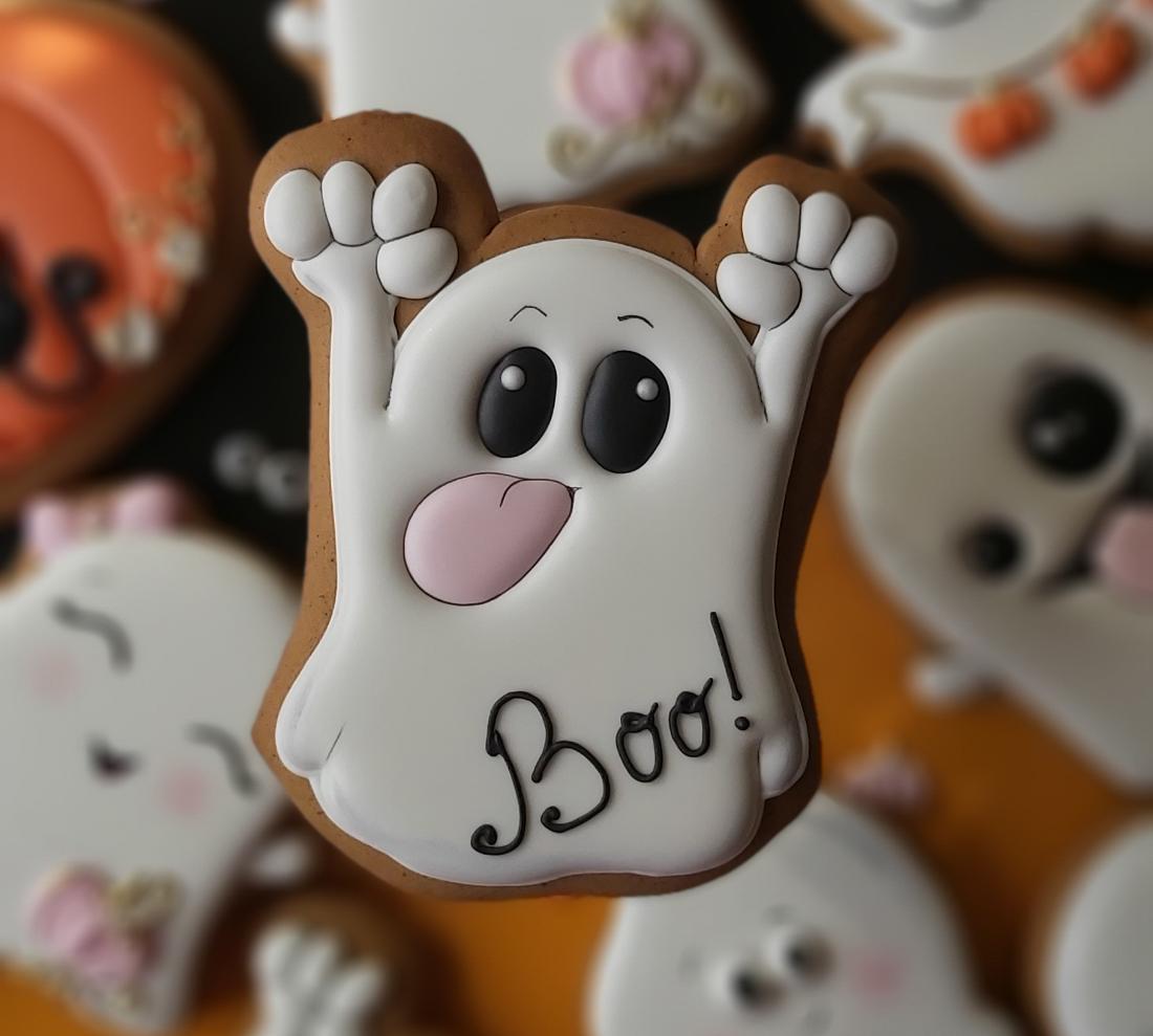 Имбирные Пряники на Хэллоуин заказать, Киев