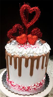 Торт на День Святого Валентина купить в Киеве